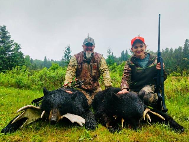 Saskatchewan Trophy Black Bear Hunts with Saskatchewan Big Buck Adventures